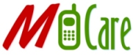 M-CARE logo, showing a mobile in between M and the word CARE